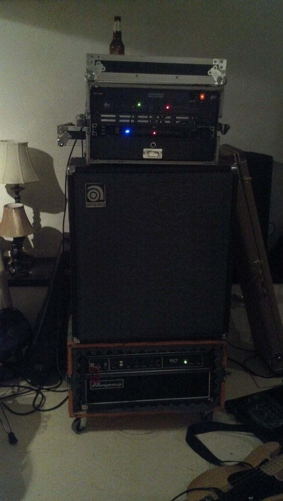 New bass setup